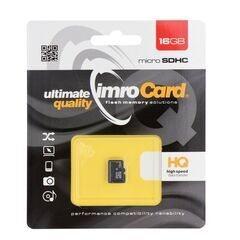 Paměťová karta 16GB IMRO microSD bez adaptéru PT