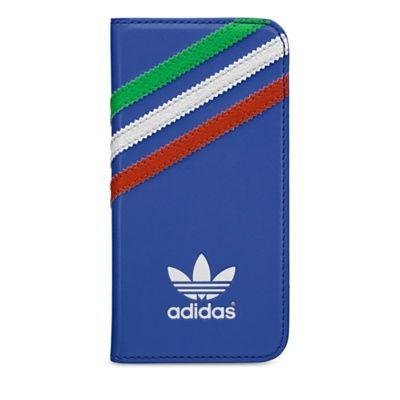 Adidas pouzdro knížka Apple iPhone 5/5C/5S/SE Italy modré