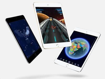Apple iPad mini 4 Wi-Fi 128GB zlatý