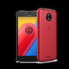 Lenovo Moto C 4G SINGLE červený
