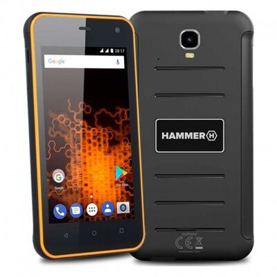 MyPhone Hammer Active DUAL oranžový