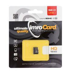 Paměťová karta 32GB IMRO microSD bez adaptéru PT