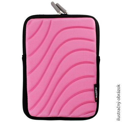 Pouzdro tablet na zip růžové
