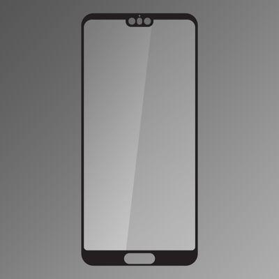 Skleněná fólie Huawei P20 fullcover černá