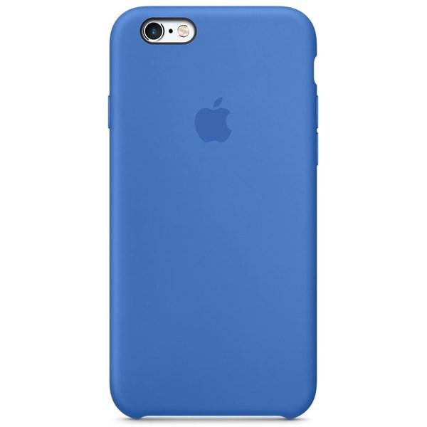 Apple pouzdro gumové Apple iPhone 6 6S královsky-modré. Zobrazit v plné  velikosti 4672c0ade69