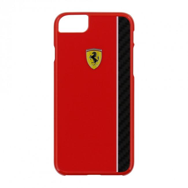 Ferrari pouzdro plastové Apple iPhone 7 FECBSHCP7RE červené. Zobrazit v  plné velikosti 803b169816a