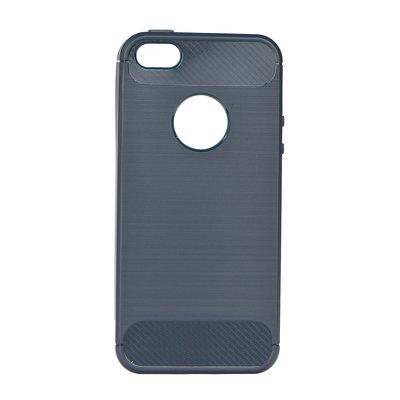 Pouzdro gumové Apple iPhone 5 5C 5S SE Carbon černé PT Zobrazit v plné  velikosti 7a2ea5a0266