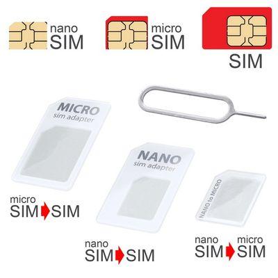 Adapter SIM 3v1 bílý