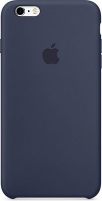 Apple pouzdro gumové Apple iPhone 6/6S Midnight Blue