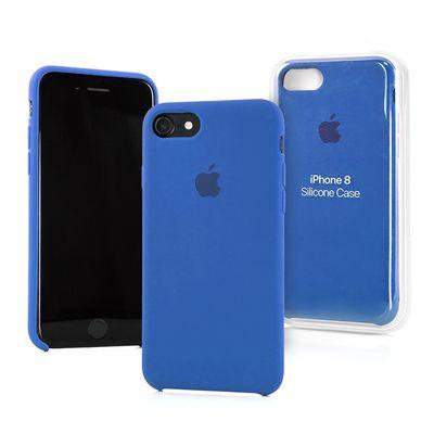 Apple pouzdro gumové Apple iPhone 7 Sea Blue