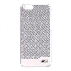 BMW pouzdro plastové Apple Iphone 6 BMHCP6MDCS stříbrné
