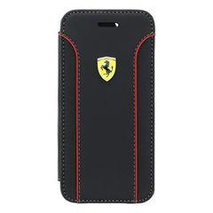 Ferrari pouzdro knížka Apple iPhone 6/6S FEDA2IFLBKP6BL černé