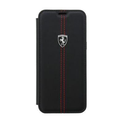 Ferrari pouzdro knížka Samsung G950 Galaxy S8 FEHDEFLBKS8BK Heritage č