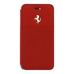 Ferrari pouzdro knížka iPhone 6/6S FEGTBGFLBKP6RE červené