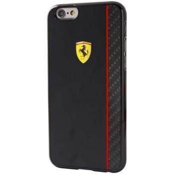 Ferrari pouzdro plastové Apple iPhone 6/6S FECBSHCP6BK černé