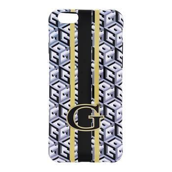 Guess pouzdro gumové Apple iPhone 6/6S GUHCP6GCUBK černé