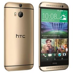 HTC One M9+ zlatý