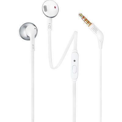 JBL headset Tune 205 20Hz-20kHz bílý