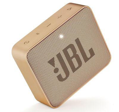 JBL mini přenosný voděodolný bezdrátový reproduktor Go2 3.1W zlatý