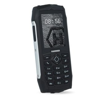MyPhone Hammer 3 DUAL stříbrný