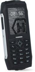 MyPhone Hammer 3 Plus DUAL stříbrný