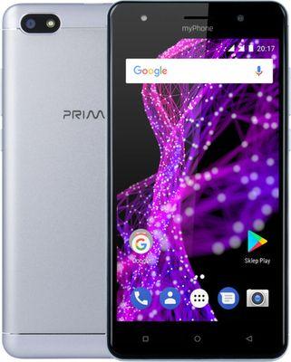 MyPhone Prime 2 stribrný