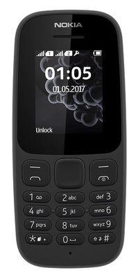 Nokia 105 DUAL 2017 černý