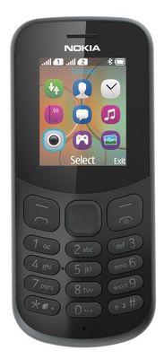 Nokia 130 SINGLE 2017 černý