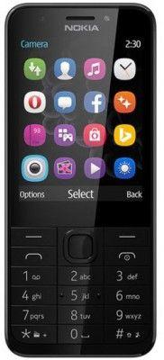 Nokia 230 DUAL tmavo stříbrný