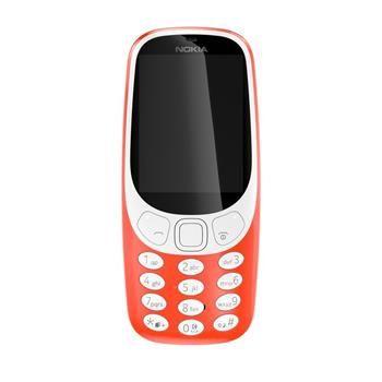 Nokia 3310 2017 SINGLE červený