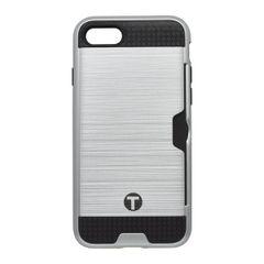 Pouzdro plastové Apple iPhone 7 stříbrné