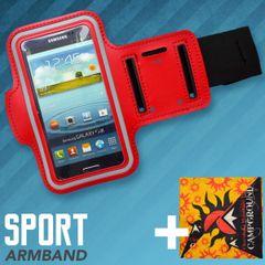 Pouzdro sportovní na rameno 4XL červené + multifunkční šátek