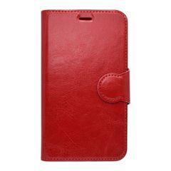 Pouzdro knížka Lenovo Moto E4 červené