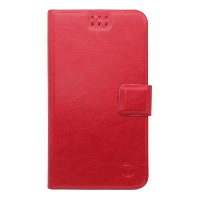 Pouzdro knížka univerzální 2XL červené