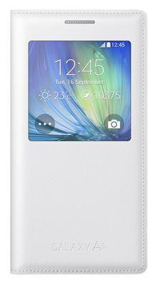 Samsung pouzdro knížka A500 Galaxy A5 EF-CA500BWEGWW s-view bílé